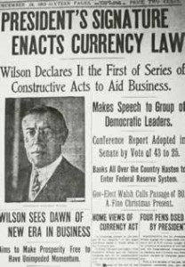 1913 News On Currency Law